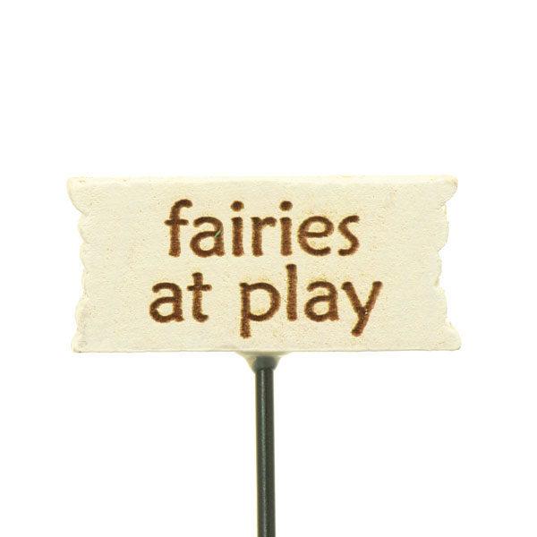 Fairies At Play Sign