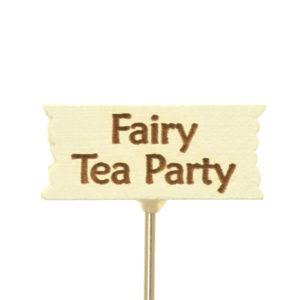 Fairy Tea Party Sign