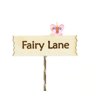Fairy Lane Sign