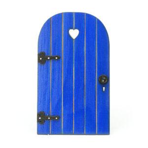 Sweetheart Door - royal blue