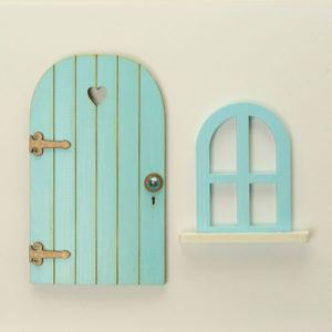 Door and Window Set - Duck Egg