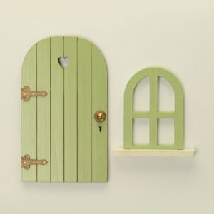 Door and Window Set - Sage Green