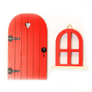 Door and Window Set - Red