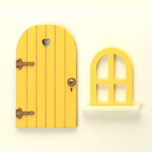 Door and Window Set - Yellow