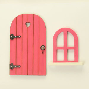 Door and Window Set - Fuchsia