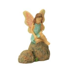 Sitting Fairy on rock